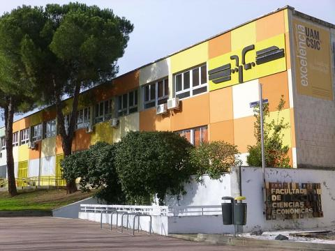 Edificio de la Universidad Autónoma de Madrid.