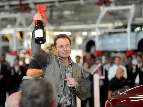 Elon Musk, director ejecutivo de Tesla y Space X.