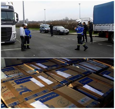 Entrega de armas y documentos de ETA de Francia a España