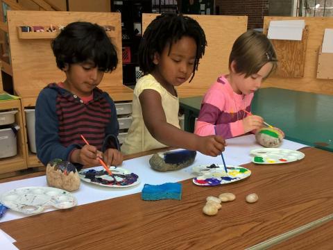 Los alumnos de Brightworks School utilizan herramientas eléctricas en vez de digitales.