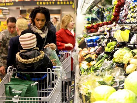 Supermercado en Estados Unidos.