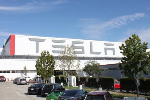 Fábrica de Tesla en Fremont (California)