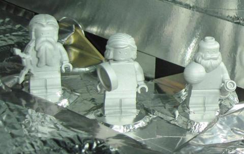 Figuras LEGO sonda Juno
