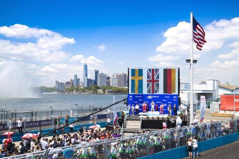 Ninguna otra prueba de la FIA se ha celebrado jamás en la ciudad de Nueva York.