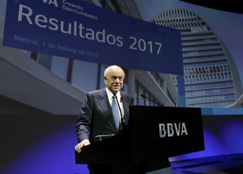 Francisco González es presidente de BBVA.