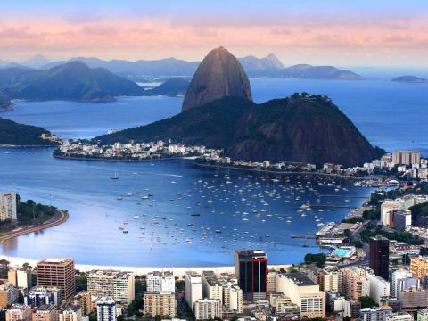 Rio de Janeiro, en Brasil.