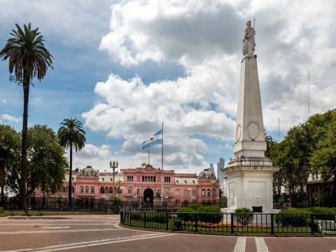 La Casa Rosada, en Buenos Aires (Argentina).