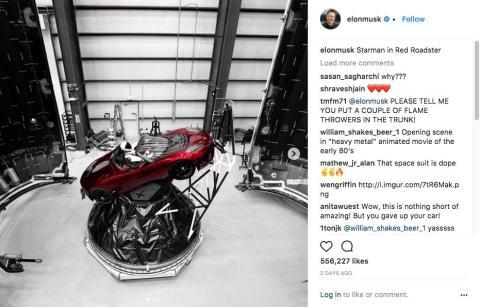 La estrategia de marketing de Elon Musk se basa en la utilización ingeniosa de las redes sociales.