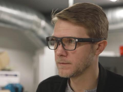 Intel gafas Vaunt