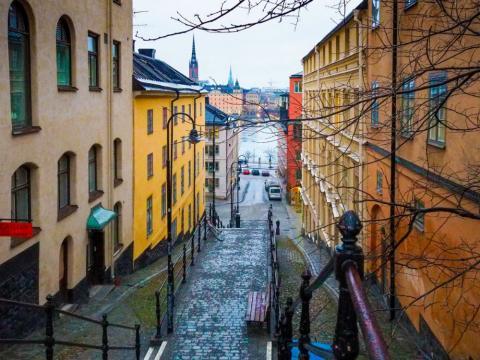 Estocolmo, en Suecia.