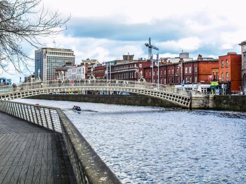 Dublín, capital de Irlanda