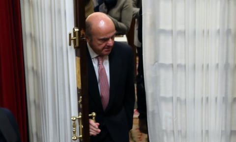 El ministro de Economía, Luis de Guindos, es uno de los candidatos a la vicepresidencia del BCE.
