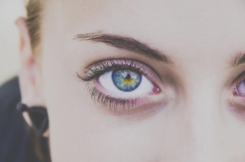 Párpado en el ojo