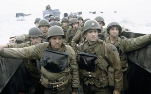 Fotograma de la película Salvar al soldado Ryan