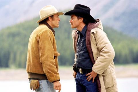 Fotograma de la película Brokeback Mountain