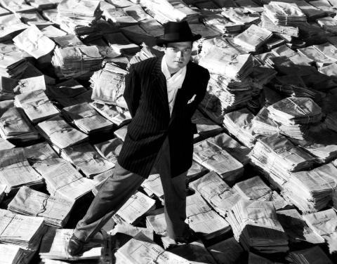 Fotograma de la película Ciudadano Kane