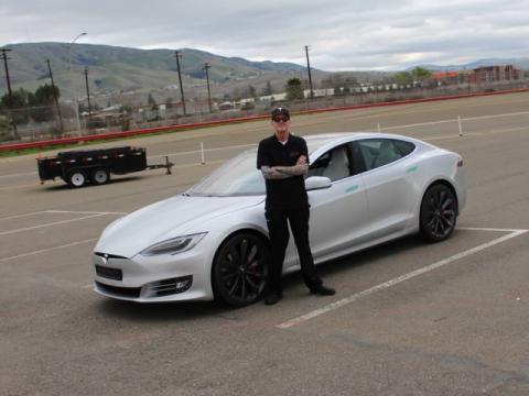 Pista de pruebas de Tesla