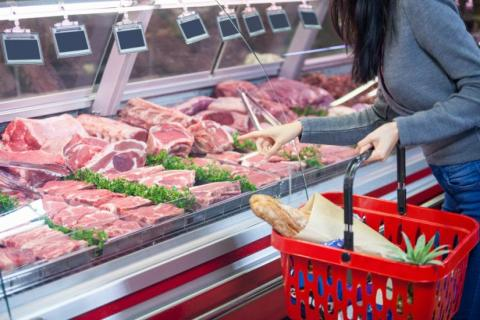 Consumo de productos frescos de acuerdo con el informe Nielsen 2017.