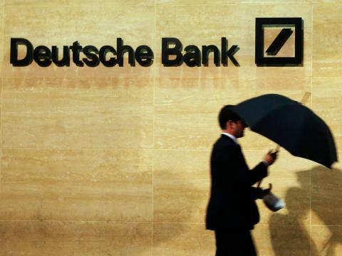 La caída de la bolsa explicada por DEUTSCHE Bank