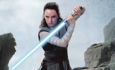 Rey en Star Wars episodio VIII: Los últimos Jedi