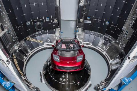 SpaceX Tesla Roadster