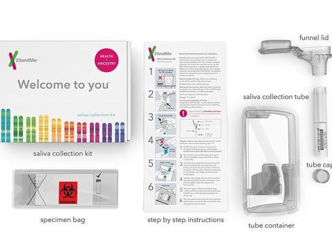 Kit doméstico de secuenciación genética