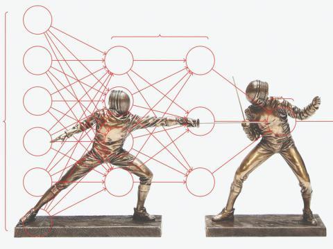 Redes neuronales enfrentadas