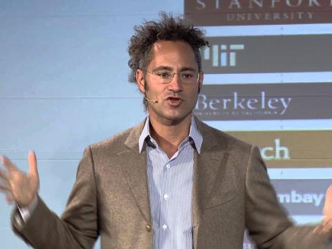 El confundador y CEO de Palantir, Alexander Karp.