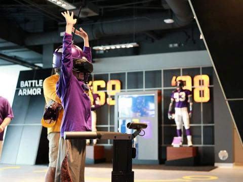 Vikings estadio VR