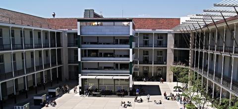 Universitat Pompeu Fabra. Campus de la Ciutadella (Barcelona).