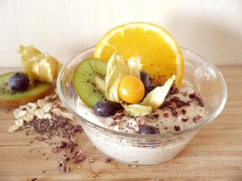 Una de las formas de tomar semillas de chía en yogur