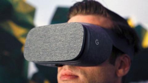 Unas gafas de realidad virtual