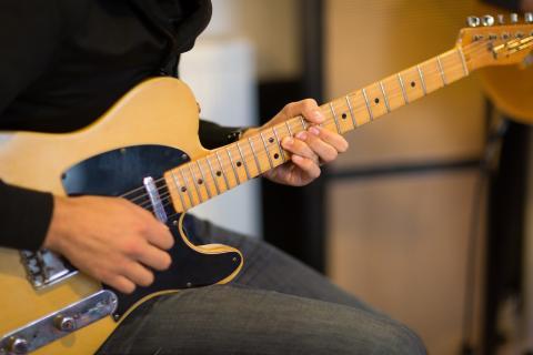 En Relendo se pueden alquilar, entre otras cosas, instrumentos musicales.