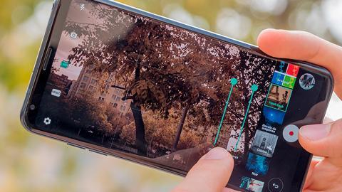 App de Cámara del LG V30