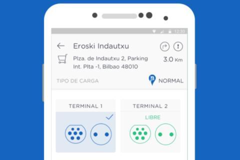 productos coches eléctricos: app de ibil