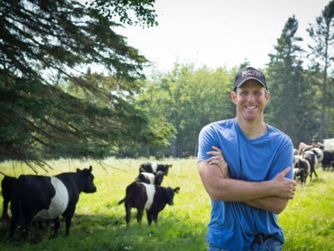 El consejero delegado de Beyond Meat, Ethan Brown.