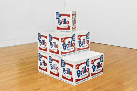 Brillo Soap Pads Box, 1964-1968.