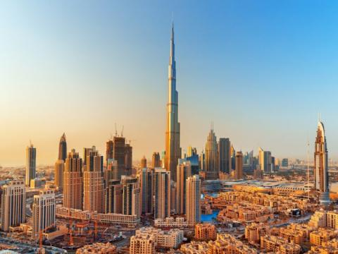 El Burj Khalifa de Dubai