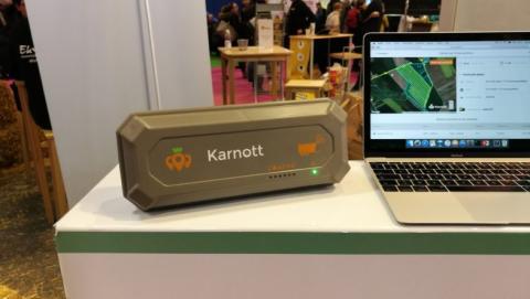 Esta caja de GPS permite geolocalizar el material