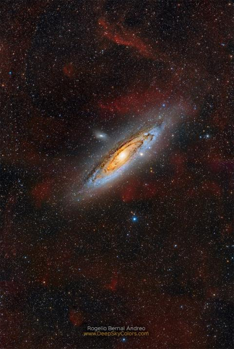 Clouds of Andromeda