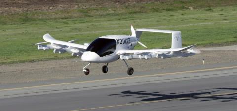 Cora, el taxi volador y autónomo del cofundador de Google