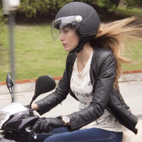 Cristina Bucero, motorista