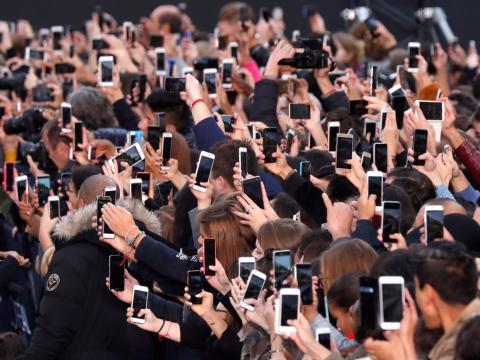 El 95% de los estadounidenses tiene móvil