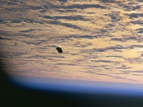 desechos espaciales
