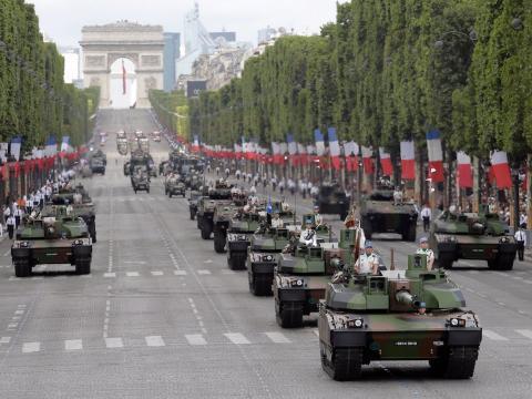 Desfile militar de Francia
