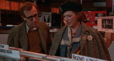 Dianne Wiest y Woody Allen