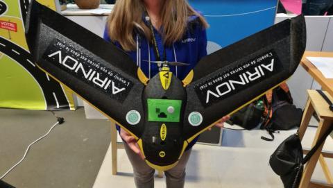 un dron de airinov