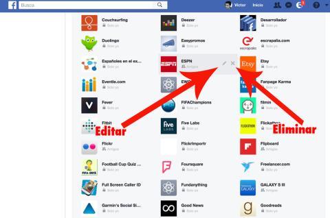 Editar Apps Facebook