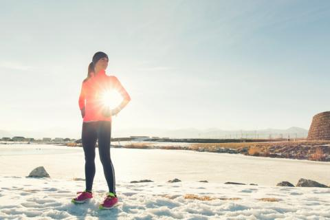 Ejercicio físico con frío