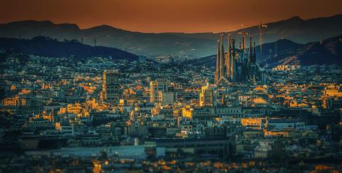 Barcelona, con 83 empresas por cada 1.000 habitantes, cuenta con la mayor concentración.